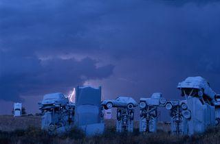 Carhenge Lightning(PII)